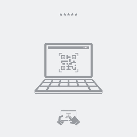 quick response code: Quick Response Code icon, Quick Response Code laptop, Quick Response Code vector, Quick Response Code symbol, Quick Response Code link. PART OF A SET, visit my portfolio.