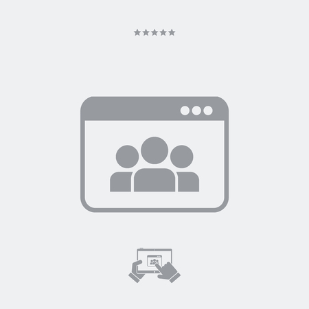 chat window: Chat window icon, chat window vector, chat window symbol, chat window design, chat window app, chat window JPG, chat window button, chat window link. PART OF A SET, visit my portfolio. Illustration