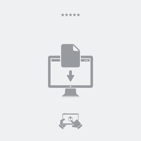 vector download: Download icon, download vector, download symbol, download design, download app, laptop download download JPG, download picture, download button, download link. PART OF A SET, visit my portfolio.