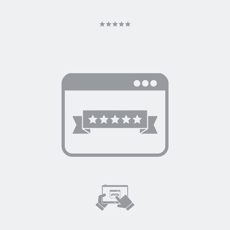 rating: Top rating web icon