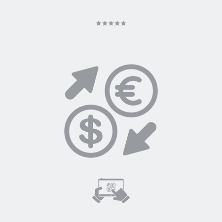 currency: EuroDollar - Foreign currency exchange icon