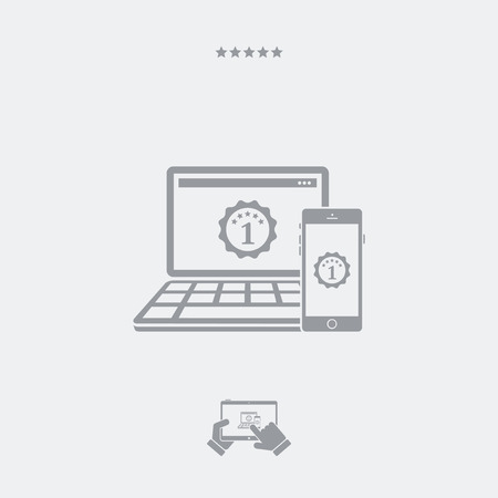 adaptable: Best devices award icon Illustration