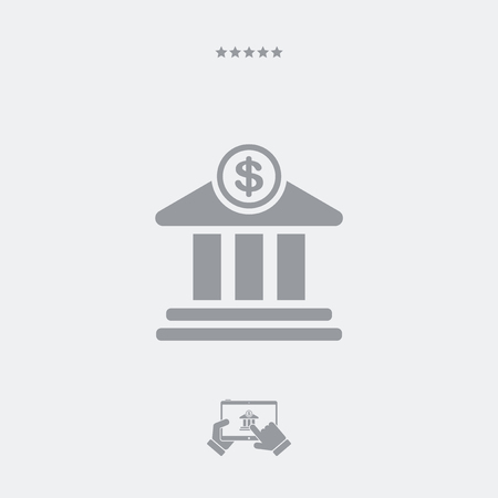 government services: Financial services flat icon