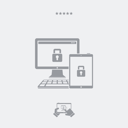 protection devices: Multi devices protection icon