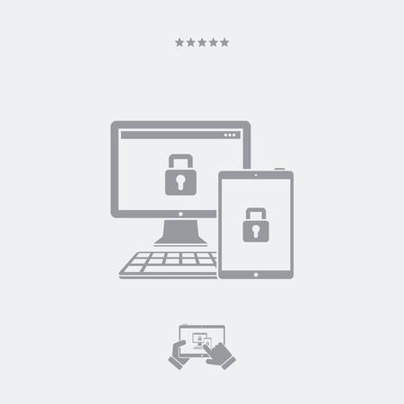 multi: Multi devices protection icon