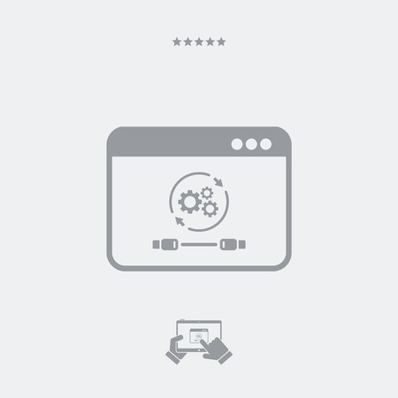 conjoin: Cable connection settings icon