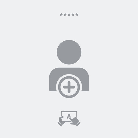 realtionship: Social network contact icon Illustration