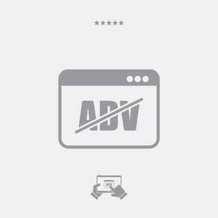 banish: Block ADV concept icon