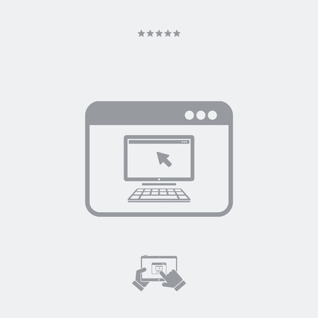 personal computer: Personal computer icon