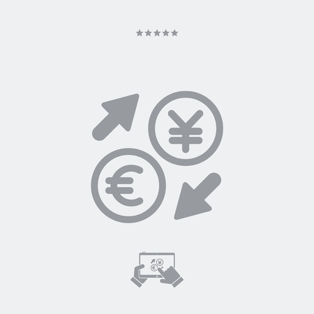 stock exchange brokers: EuroYuan - Foreign currency exchange icon