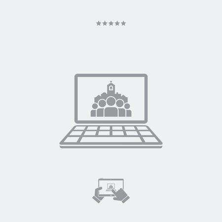 bage: Catholic website bage icon