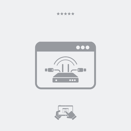 ethernet cable: Modem connection icon