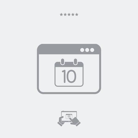 pledge: Minimal calendar application icon