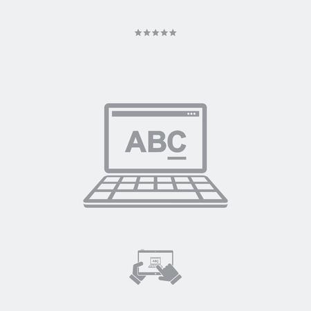 editor: Text editor software icon