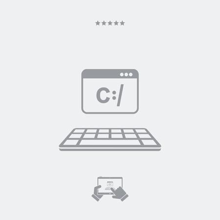 operative: Digital programming software icon