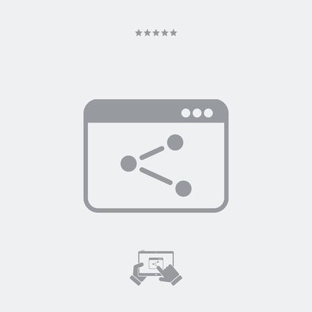 guarded: Network concept icon