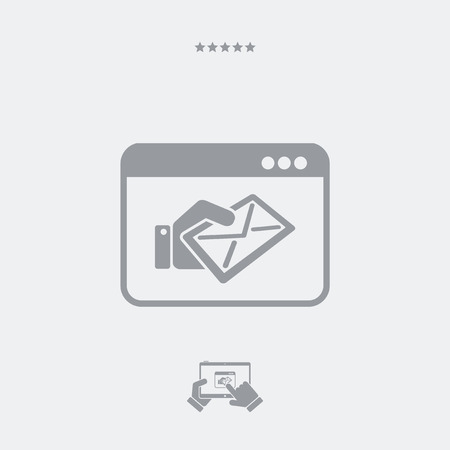 mailer: Web mail service icon