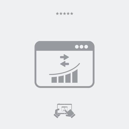 efficiency: Analysis transfer efficiency icon