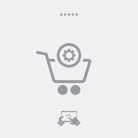 account: Web shop account setting