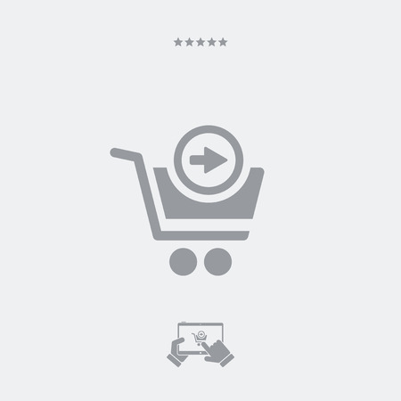 go to store: Forward web shop icon