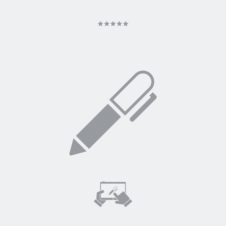tailored: Pen - Flat vector icon