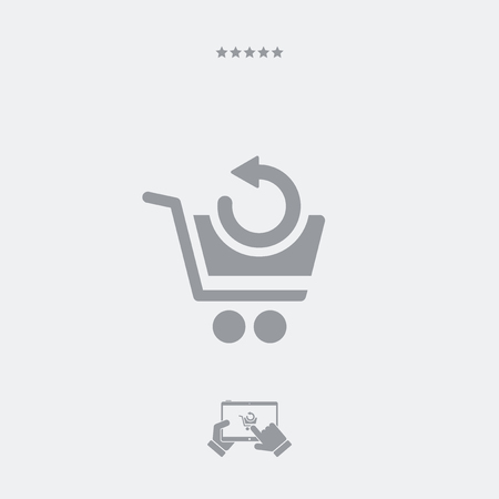 go to store: Back web shop icon