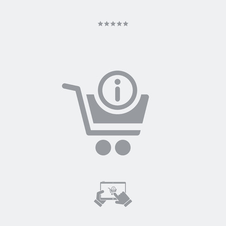 conclude: Information and support for shopping Illustration