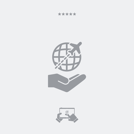 proposed: International travel services - Minimal icon