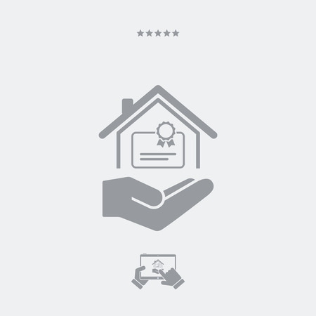 qualify: Home certification services - Minimal icon