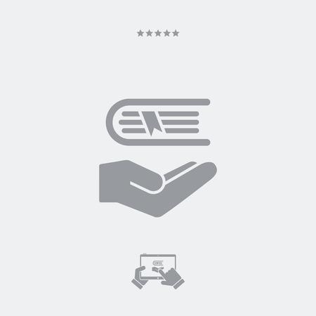 Book - Minimal vector icon