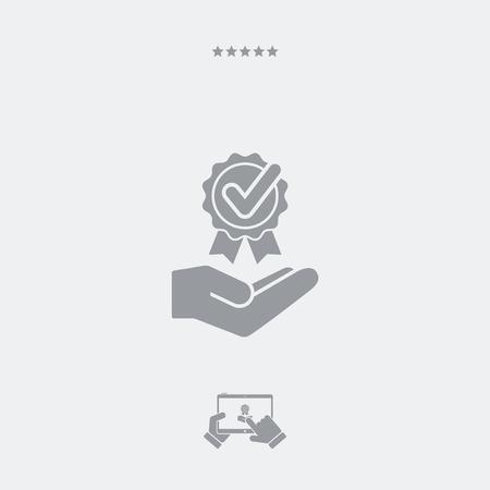 cockade: Service offer - Check best option - Minimal icon