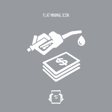 refueling: Fuel expense icon