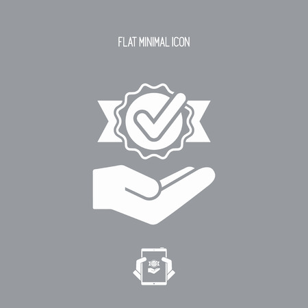 marca de verificación - Mínimo icono moderno