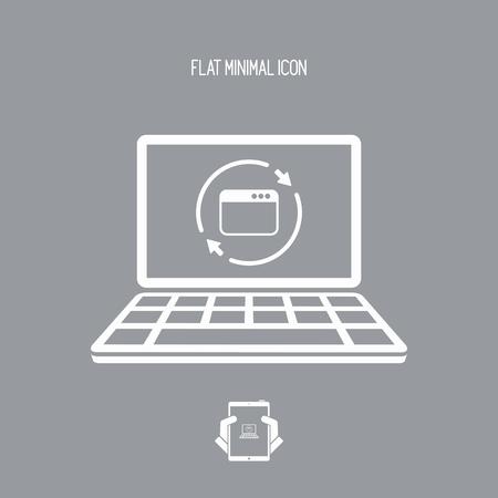 http: Refresh computer window icon