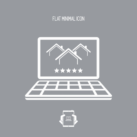 Best Luxury Home Rating - Five Stars - Vector Flat Icon Royalty Free ...