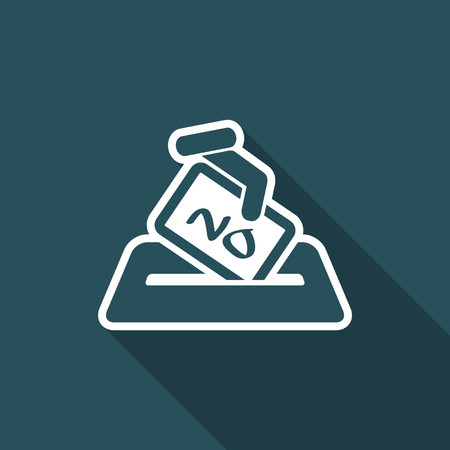 Vote concept icon.