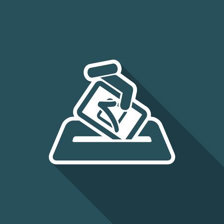 Election concept icon.