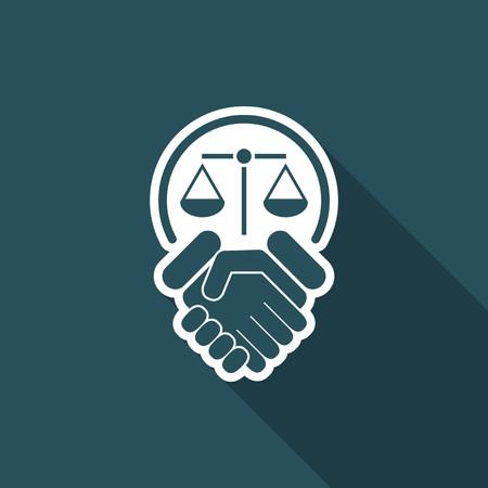 Legal agreement Illustration