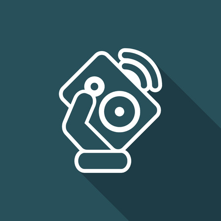 Speaker icon Illustration