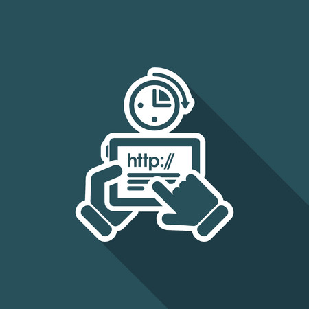 http: Connection time icon