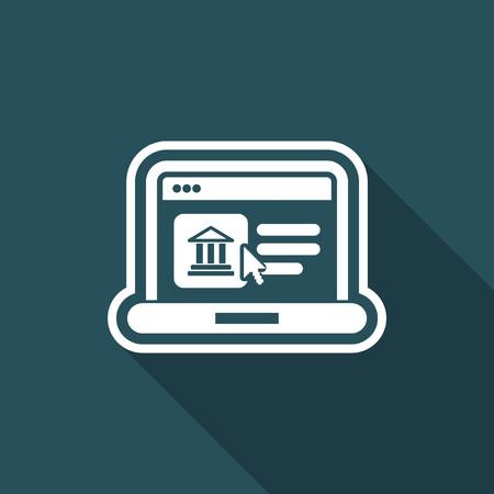 Historical website icon
