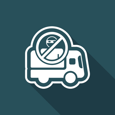 Security transport icon