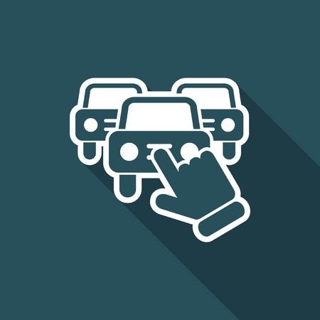 Car selection icon