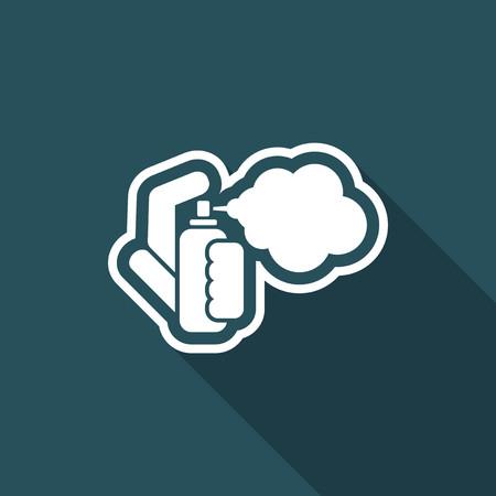 El icono de pulverización Vectores