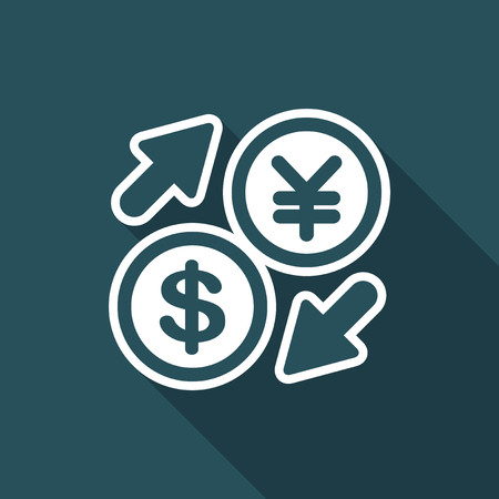 DollarYen - Foreign currency exchange icon