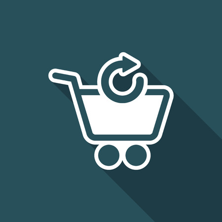 Refresh shopping cart icon