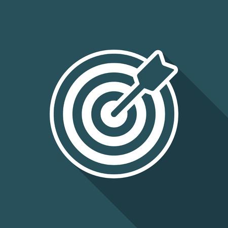 unbiased: Winning strategy - Minimal vector icon