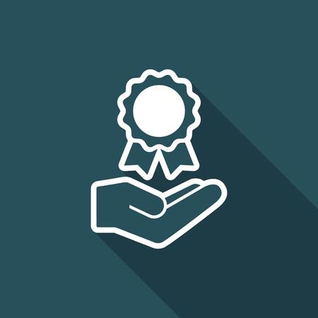 Certification service - Minimal icon