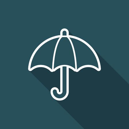 Protection button - Minimal vector icon