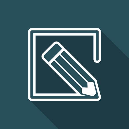 Customized services - Flat icon Illustration